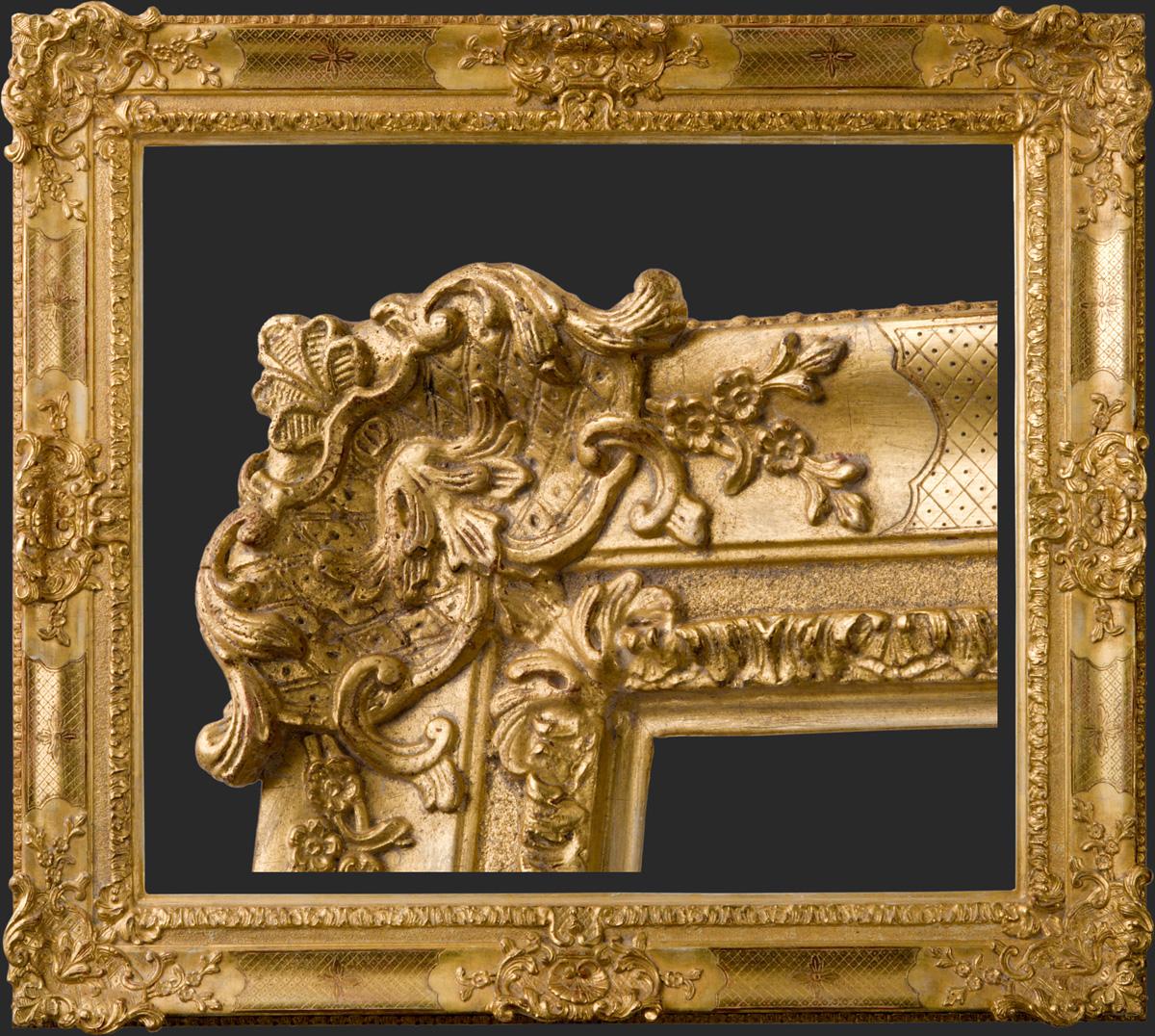 Gouden ornamentlijst