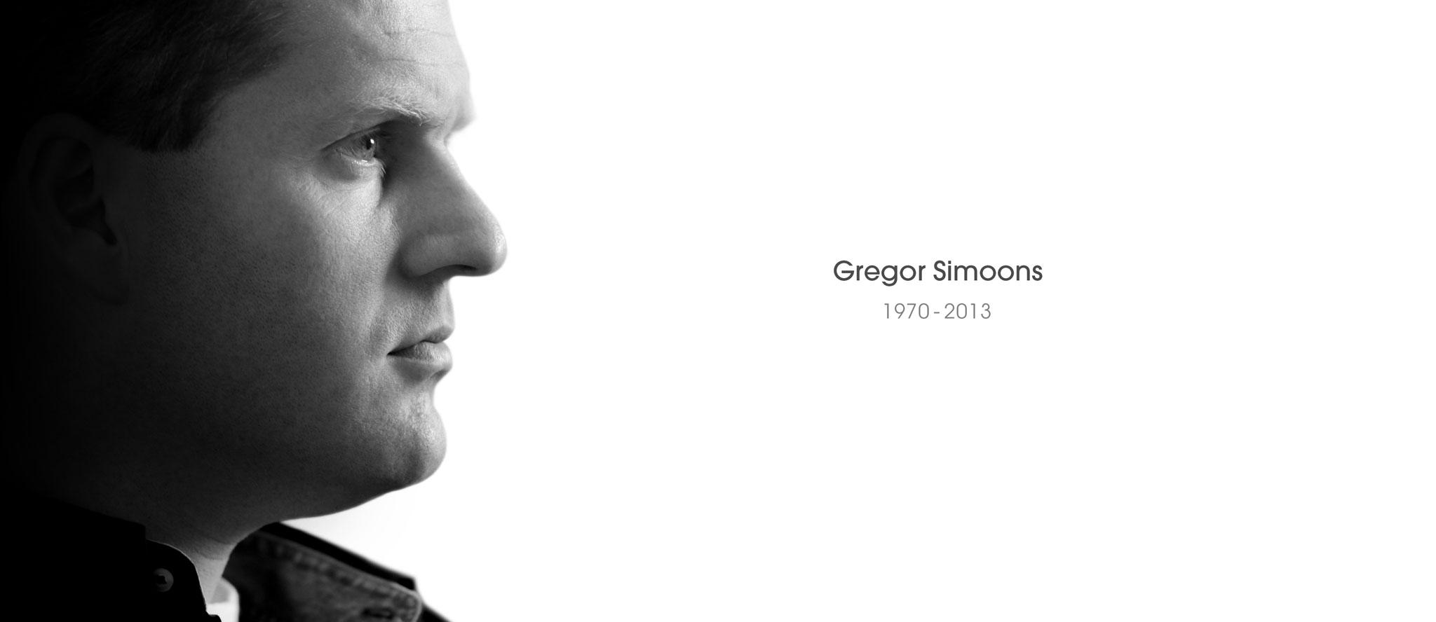 Gregor Simoons 1970-2013