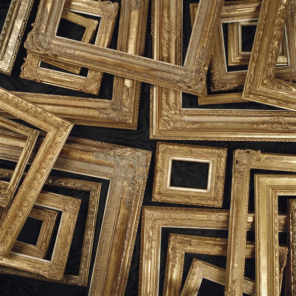 Gouden ornamentlijsten